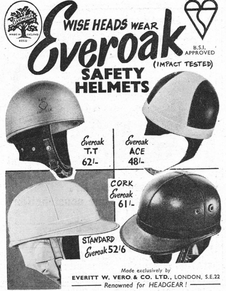 Everoak Helmets Advertisement